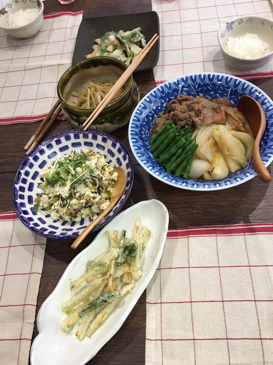 今月の和食の会