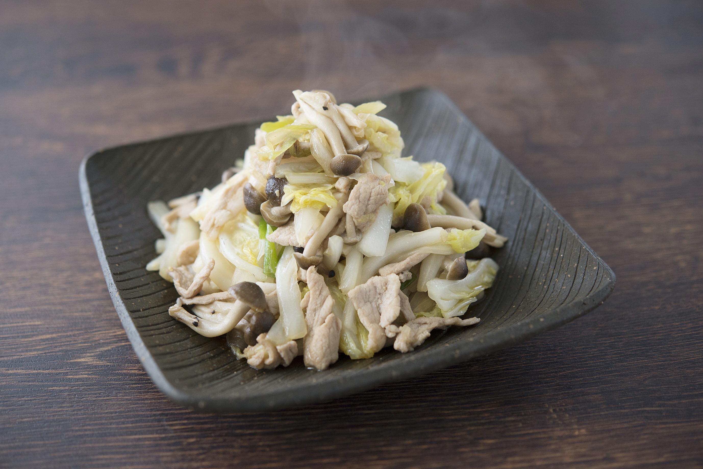 簡単で美味しい「白菜と豚肉のさっと炒め」