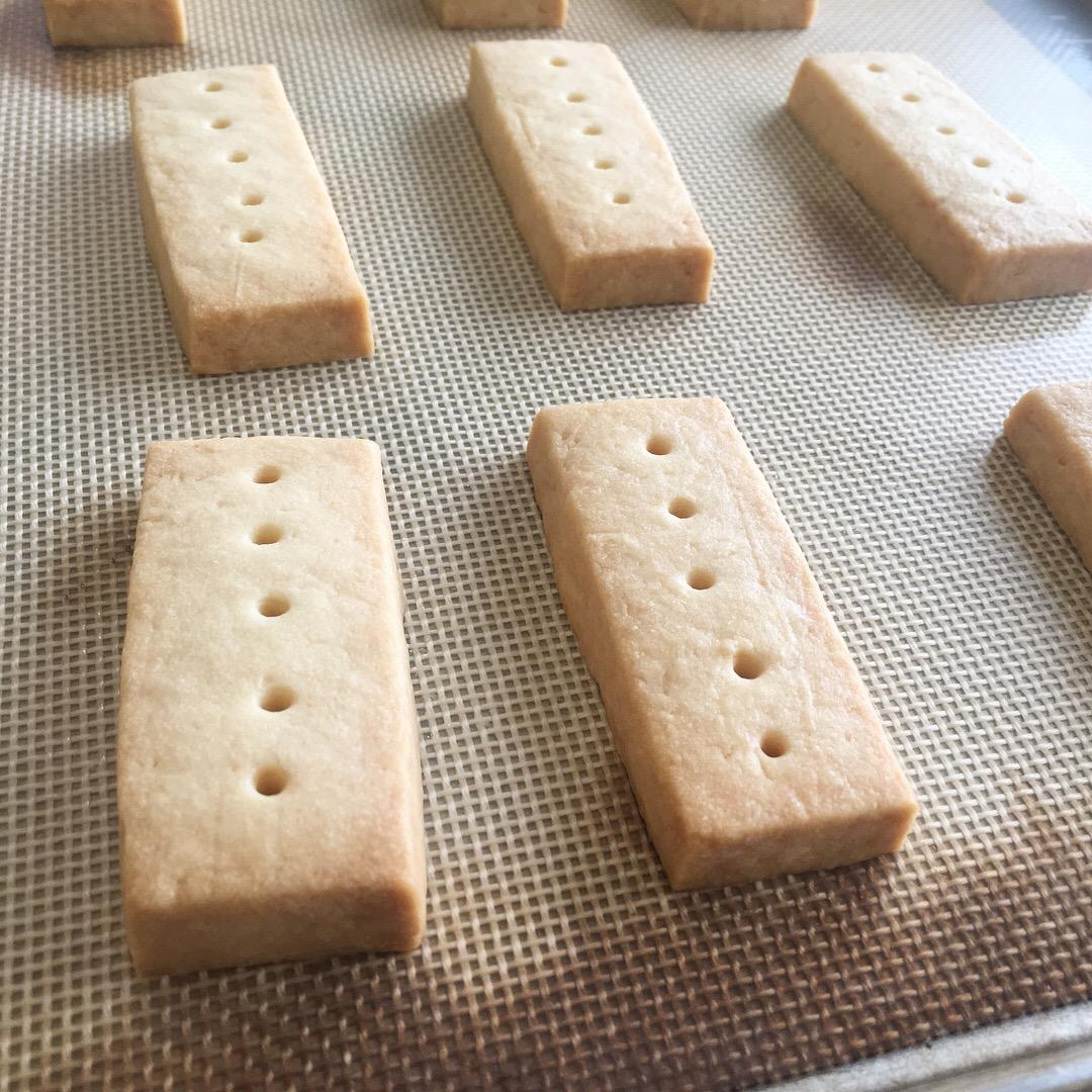 簡単まじめお菓子教室:3月ショートブレッド