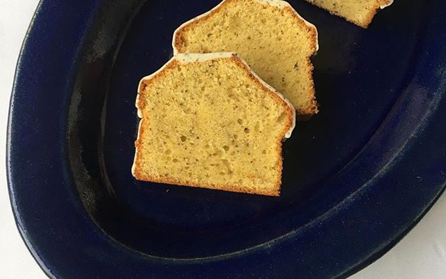 リッチバニラのパウンドケーキ