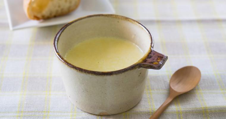 ハンディブレンダーでつくる「黄パプリカのポタージュスープ」