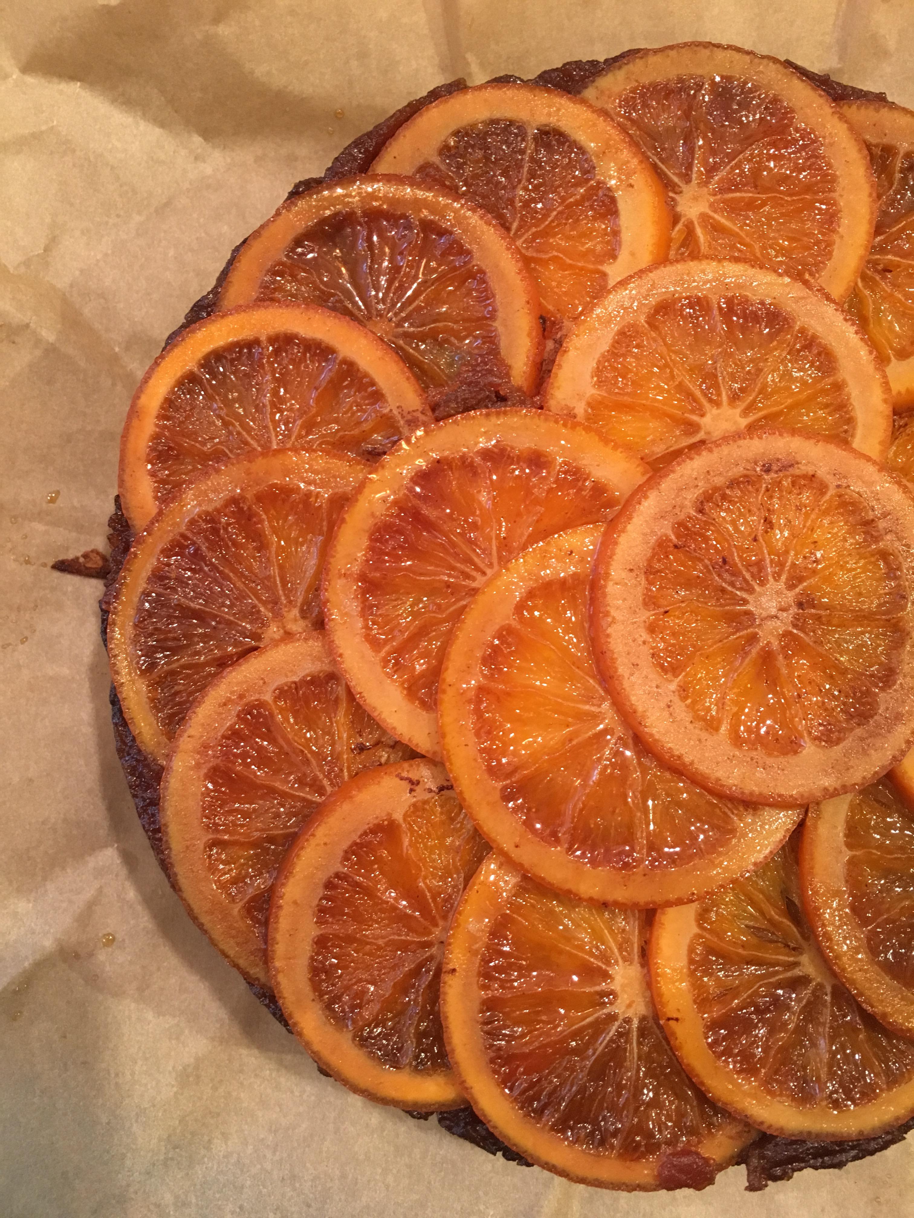 7月の藤野貴子のお菓子教室 :アップサイドダウンケーキ