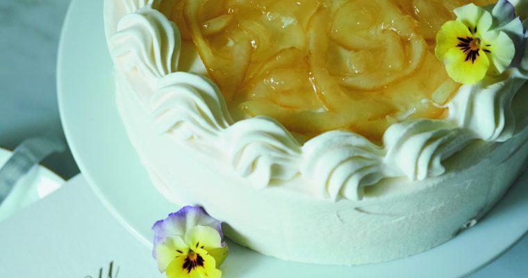 レモンショートケーキ