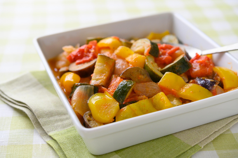 夏野菜を美味しくたっぷり「ラタトゥイユ」