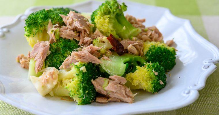 旬の花野菜・ブロッコリーでつくる「ブロッコリーとツナのホットサラダ」